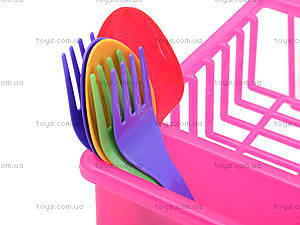 Набор посуды «Юная господарочка», №7, 0487, игрушки
