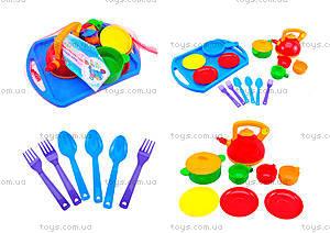 Набор посуды «Юная хозяюшка», 0488