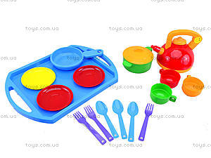 Набор посуды «Юная хозяюшка», 0488, магазин игрушек