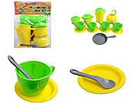 Набор игрушечной посудки «Орион», 924 в.3, отзывы