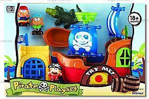 Игровой набор с кораблем «Пираты», K10773