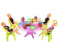 Праздничный стол с куколками, A8-55