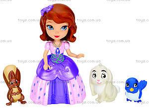 Кукла Дисней «Принцесса София и её друзья-звери», Y6640, купить