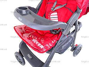 Прогулочная коляска Baby Tilly «Red», BT-SB-0006C RED, магазин игрушек