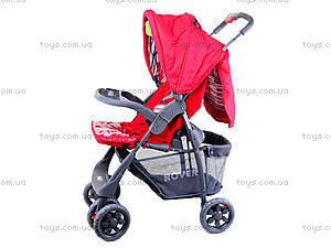 Прогулочная коляска Baby Tilly «Red», BT-SB-0006C RED, іграшки