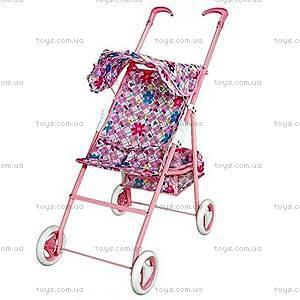 Прогулочная коляска для куклы с корзинкой, PZ-3936A/FL739