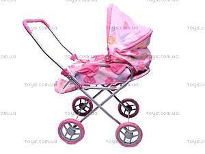Прогулочная коляска-трансформер для куклы, 9391, фото