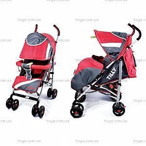 Прогулочная коляска-трость, красная, BT-SB-0002 RED, купить