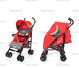 Прогулочная коляска-трость, красная, BT-SB-0002 RED, фото