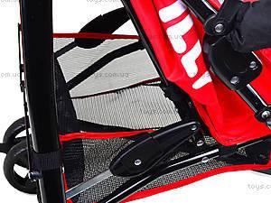 Прогулочная коляска-трость, красная, BT-SB-0002 RED, магазин игрушек