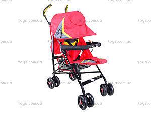 Прогулочная коляска-трость, красная, BT-SB-0002 RED, toys.com.ua
