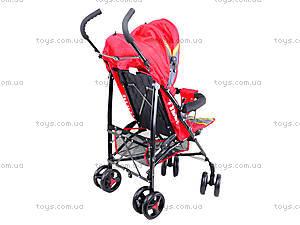 Прогулочная коляска-трость, красная, BT-SB-0002 RED, toys