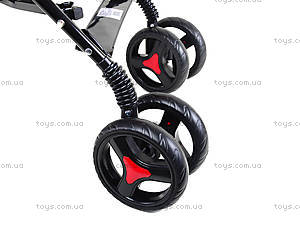 Прогулочная коляска-трость, красная, BT-SB-0002 RED, іграшки