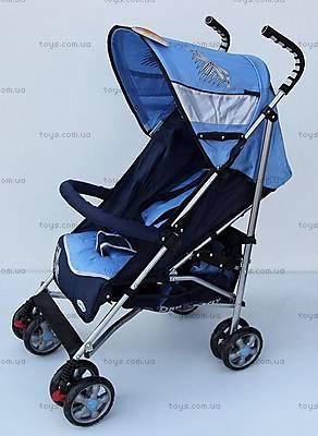 Прогулочная коляска-трость, синяя, DF-02