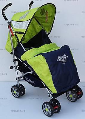 Прогулочная коляска-трость, светло-зеленая, DF-02