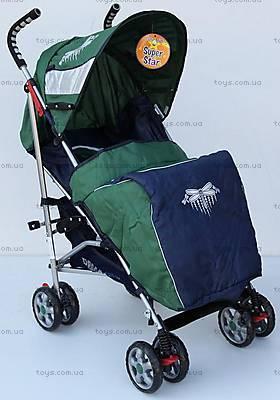 Прогулочная коляска-трость, зеленая, DF-02