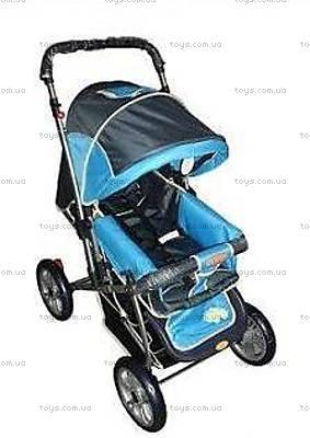 Прогулочная коляска «Зима-Лето», голубая, BH-8030-10 SK