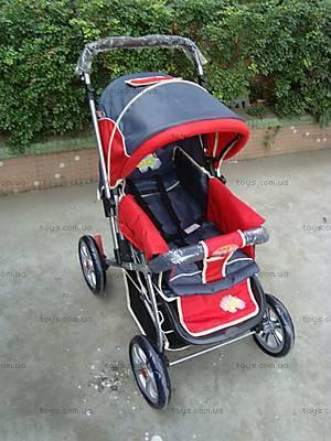 Прогулочная коляска «Зима-Лето», красная, BH-8030-10 RE