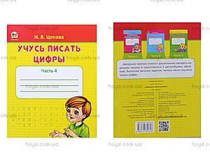Обучающая книга «Учусь писать цифры», Талант