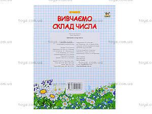 Прописи для детей «Изучаем состав числа», Талант, фото