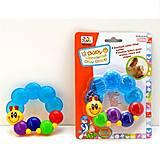 Прорезыватель для зубов Huile Toys «Гусеничка», 306D, toys