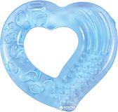 Прорезыватель для зубов с водой «Сердечко» голубой Lindo, LI 307
