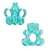 Прорезыватель для зубов, с водой (синий) Lindo, LI 301, купить