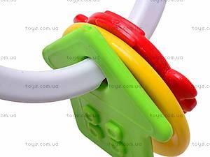 Прорезыватель с погремушкой, 01509, детские игрушки