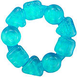 Прорезыватель «Карамельный круг» синий, 8258-3, купити