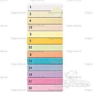 Махровая простынь на резинке Frotte, розовая, 0025-10
