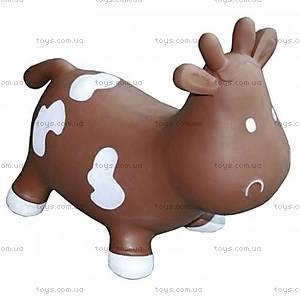 Прыгун для детей «Коровка Бетси», шоколадно-белый, KFMC130307