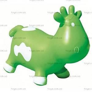 Прыгун для детей «Коровка Бетси», зелено-белый, KFMC130305