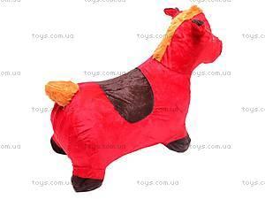 Прыгун для детей плюшевый «Лошадка», MS0325, купить