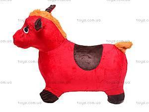 Прыгун для детей плюшевый «Лошадка», MS0325, фото