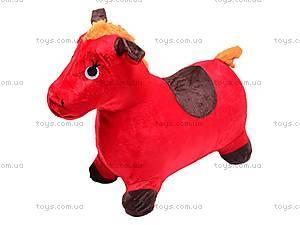 Прыгун для детей плюшевый «Лошадка», MS0325, отзывы