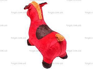 Прыгун для детей плюшевый «Лошадка», MS0325, игрушки