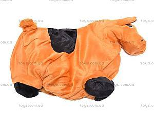 Прыгун для детей плюшевый «Лошадка», MS0325, магазин игрушек