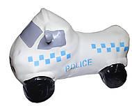 Прыгун полицейская машина (белая), BT-RJ-0036, детский