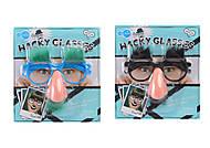 Приколы-шалости «Очки с усами», 5003-234, купить