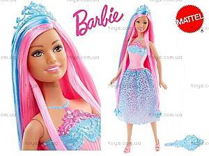 Кукла-принцесса Barbie серии «Сказочно-длинные волосы», DKB56, купить
