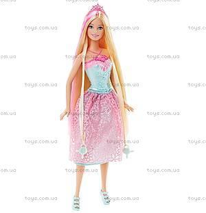 Кукла-принцесса Barbie серии «Сказочно-длинные волосы», DKB56, отзывы