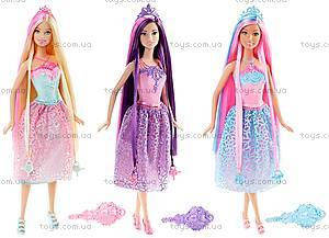 Кукла-принцесса Barbie серии «Сказочно-длинные волосы», DKB56