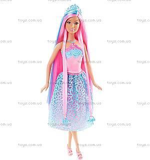 Кукла-принцесса Barbie серии «Сказочно-длинные волосы», DKB56, цена