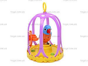 Интерактивная птичка Digi Birds, в клетке, 5023, фото