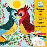 Декорирование гофрированной бумагой «Птицы», DJ09443