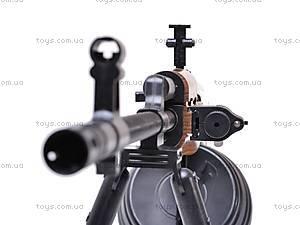 Пулемет детский с пульками, 003A, фото