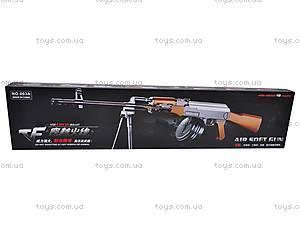 Пулемет детский с пульками, 003A, игрушки