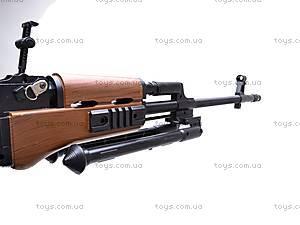 Пулемет детский с пульками, 003A, детские игрушки