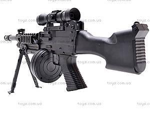 Пулемет с пульками, M601, игрушки