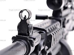Пулемет с пульками, M601, детские игрушки